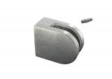 Glasklemme 50x40x26 mm Zink roh für Anschluss flach