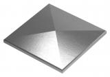 Pfeilerbedecker für Quadratrohr | 150x150 mm | Stahl S235JR, verzinkt