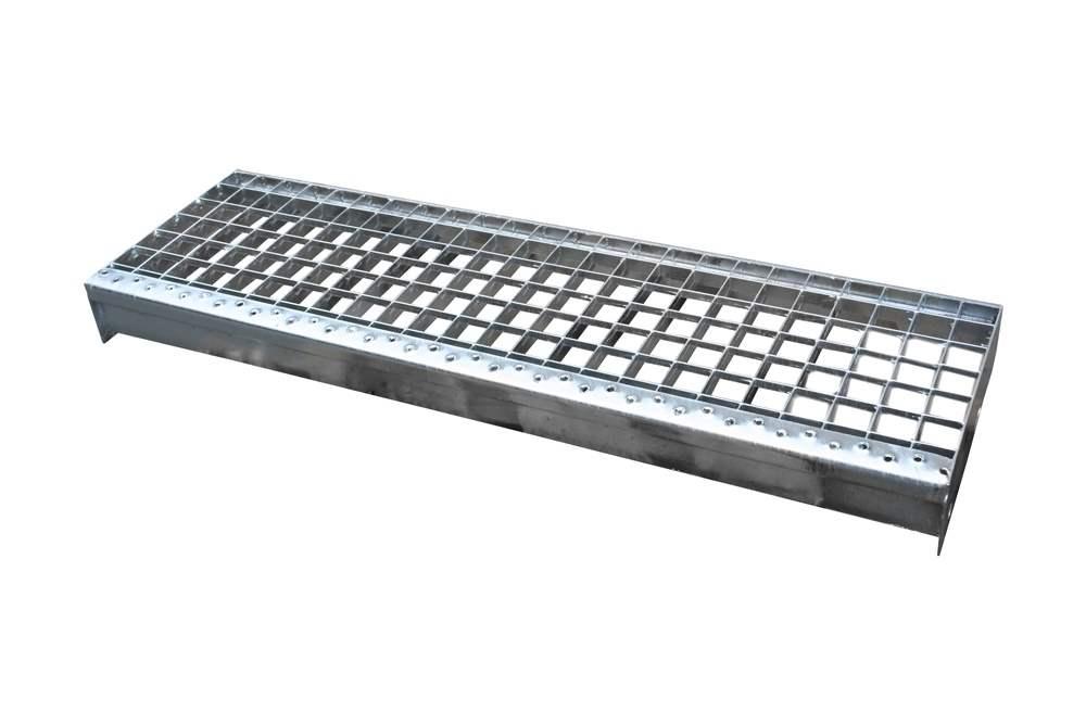 Pressroststufe | Maße: 600x270 mm 30/30 mm | S235JR (St37-2)