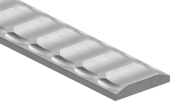 Flacheisen   Länge: 3000 mm   Material: 40x8 mm   Stahl (Roh) S235JR