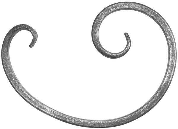 16er Serie | Maße: 175x125 mm | Material: 16x8 mm, einseitig glatt | Stahl S235JR, roh