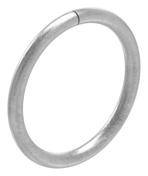 Ring | Material: 12 mm | Außen-Ø 130 mm | Stahl S235JR, roh