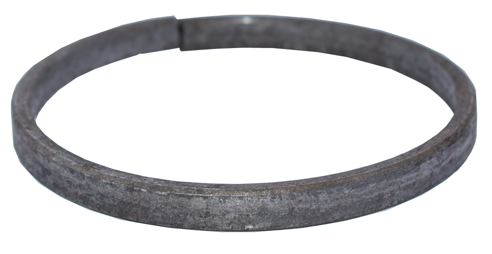 Ring | Material: 12x6 mm | Außen-Ø130 mm | Stahl S235JR, roh