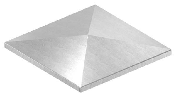 Pfeilerbedecker für Quadratrohr | 150x150 mm | Stahl (Roh) S235JR