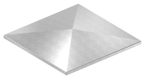 Pfeilerbedecker | für Quadratrohr | Maße: 200x200 mm | Stahl S235JR, roh