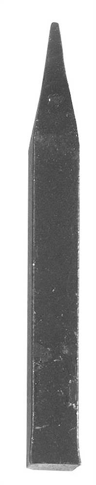 Zaunspitze 12x12 mm Höhe 120 mm | Stahl S235JR, roh