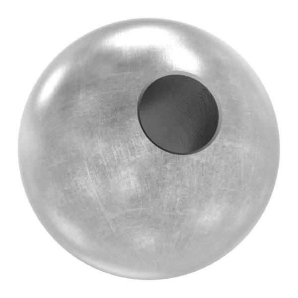 Annietkugel   Ø 16 mm Kopf   Ø 5 mm Bohrung   Stahl S235JR, roh