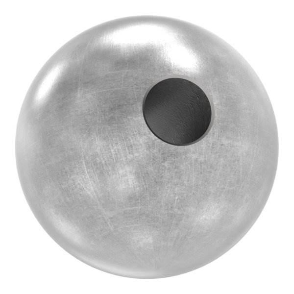 Annietkugel   Ø 19 mm Kopf   Ø 5 mm Bohrung   Stahl S235JR, roh