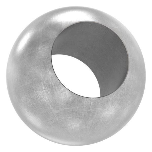 Kugel Ø 25 mm   mit Durchgangsbohrung 14,2 mm   Stahl S235JR, roh