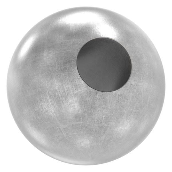 Kugel Ø 40 mm   mit Durchgangsbohrung 14,2 mm   Stahl S235JR, roh