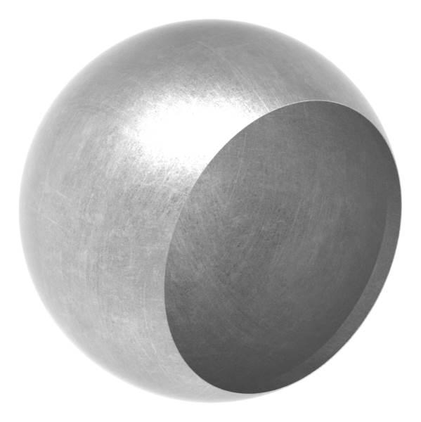 Abschlußkugel Ø 60 mm | für Ø 48,3 mm| Stahl S235JR, roh