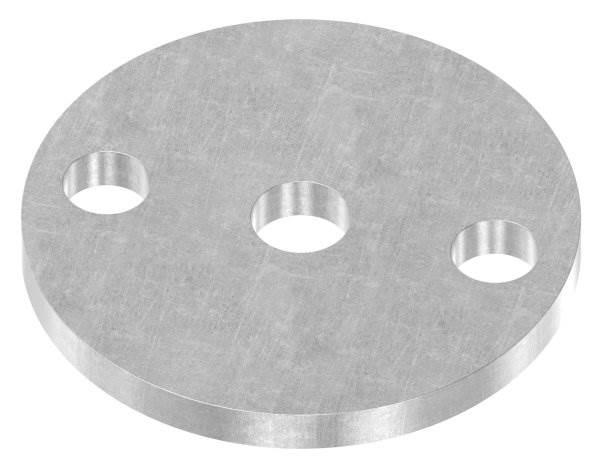 Ankerplatte | Maße: Ø 70x6 mm | Stahl (Roh) S235JR
