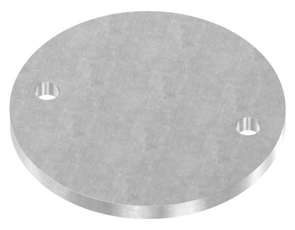 Ankerplatte | Maße: Ø 120x8 mm | Stahl (Roh) S235JR
