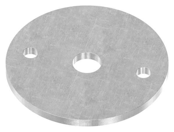 Ankerplatte | Maße: Ø 70x4 mm | Stahl (Roh) S235JR