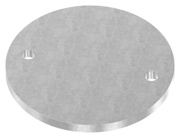 Ankerplatte | Maße: Ø 160x10 mm | Stahl (Roh) S235JR