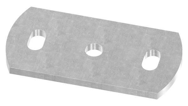 Ankerplatte | Maße: 120x60x6 mm | Stahl (Roh) S235JR