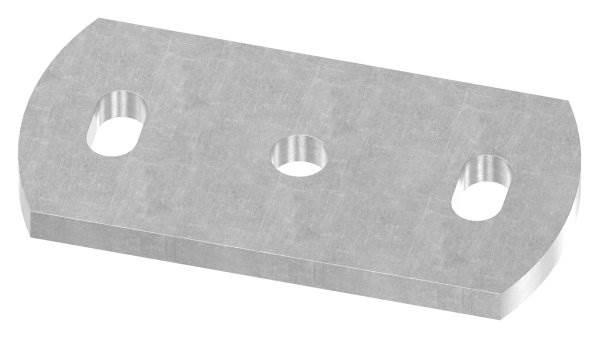 Ankerplatte | Maße: 120x60x8 mm | Stahl (Roh) S235JR