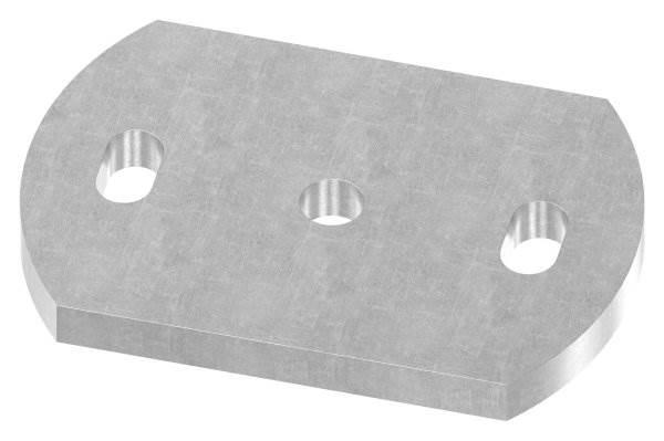 Ankerplatte | Maße: 120x80x10 mm | Stahl (Roh) S235JR