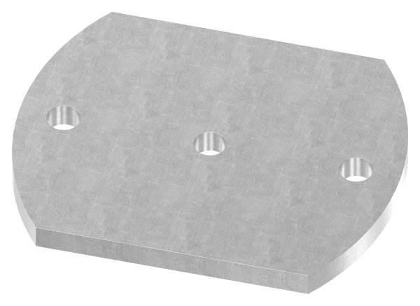 Ankerplatte | Maße: 150x120x10 mm | Stahl (Roh) S235JR
