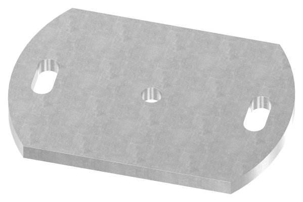 Ankerplatte | Maße: 170x120x10 mm | Stahl (Roh) S235JR