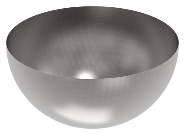 Halbhohlkugel Ø 1000 mm   glatt   Stahl S235JR, roh