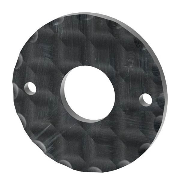 Rosette   Ø 50x5 mm   Stahl S235JR, roh