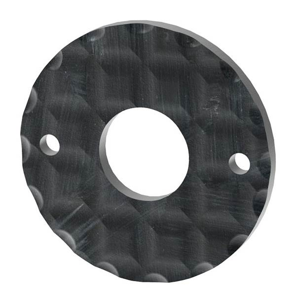Drückerrosette   Maße: Ø 50 mm   Stahl (Roh) S235JR