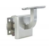 V2A Handlaufhalter mit Halteplatte für Ø 42,4 mm