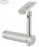 V2A Handlaufhalter mit Gelenk für Ø 42,4 mm