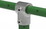 Rohrverbinder 101C42/D48 - T-Stück kurz