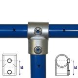 Rohrverbinder 101E60/D48 - T-Stück kurz