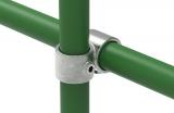 Rohrverbinder 161D48/B34 - Kreuzstück vorgesetzt 90° reduziert