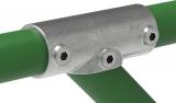 Rohrverbinder 127D48 - T-Stück 30-45°