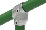 Rohrverbinder 129B34 - T-Stück kurz 30-60°