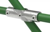Rohrverbinder 130B34 - Kreuzstück 30-45°