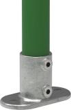 Rohrverbinder 132B34 - Fußplatte oval
