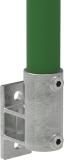 Rohrverbinder 144B34 - Wandhalter Platte vertikal