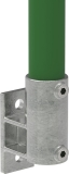 Rohrverbinder 144D48 - Wandhalter Platte vertikal