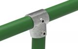 Rohrverbinder 153D48 - T-Stück kurz verstellbar 0-11°