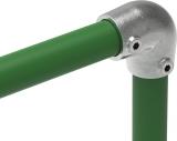Rohrverbinder 154B34 - Bogen 90° verstellbar 0-11°