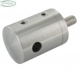 Seilhalter V2A für Seile Ø 6 mm Anschluss flach/gerade