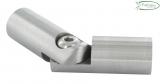V2A Gelenk zum Kleben mit Bohrung 10,2 mm