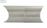 V2A-Rohrverbindungsstück verstellbar für Rundrohr Ø 42,4 mm