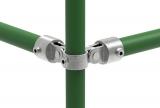 Rohrverbinder 168D48 - Gelenkstück doppelt 90°