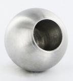 Kugel V2A Ø 30 mm mit Sackloch 14,2 mm