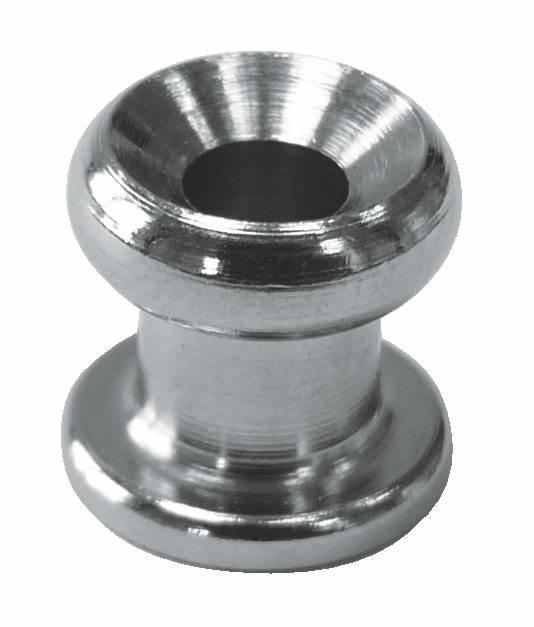 Gummiseilhalter / Persenningknopf | Höhe: 10 mm | V4A