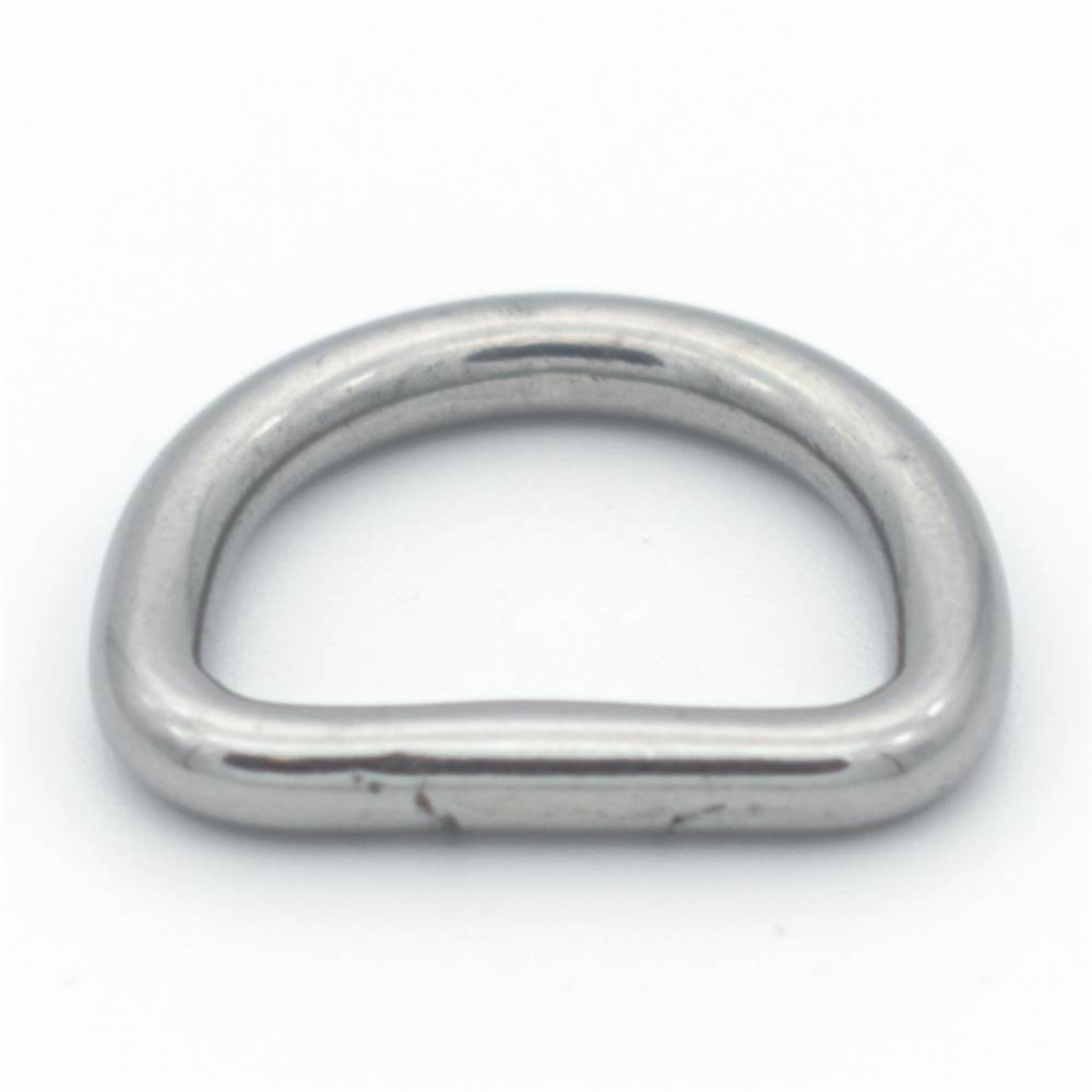D-Ring Edelstahl   Länge: 15 mm - 50 mm   V4A