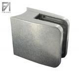 Glasklemme Zinkdruckguss 52x52x32,5 mm Modell 31 für Ø 48,3 mm