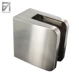 Glasklemme Edelstahleffekt 52x52x32,5 mm Modell 31 (Flach)