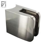 Glasklemme Edelstahleffekt 52x52x32,5 mm Modell 31 für Ø 48,3 mm